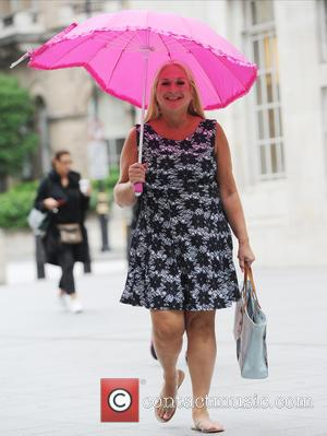Vanessa Feltz - Celebrities at the BBC studios - London, United Kingdom - Friday 24th July 2015
