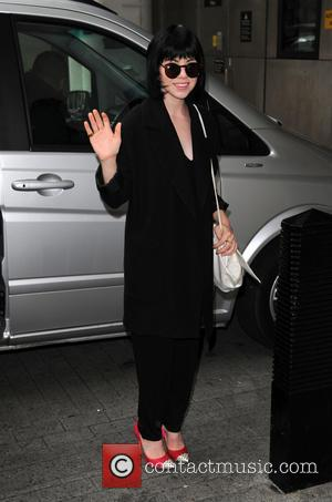 Carly Rae Jepsen - Celebrities at the BBC studios - London, United Kingdom - Friday 24th July 2015