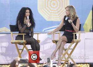 Nicki Minaj - Good Morning America Summer Concert Series 2015 - Nicki Minaj at Good Morning America - New York...