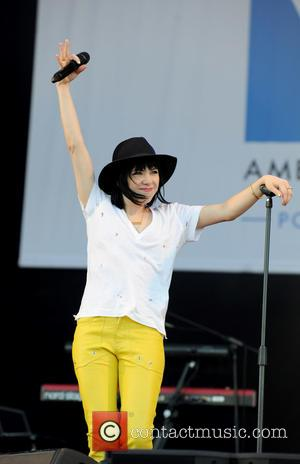 Carly Rae Jepson - Carly Rae Jepsen performs at the 'Portsmouth Live!' concert as part of the America's Cup World...