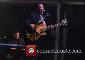 George Benson - George Benson performs live at Greenwich Music Time at the Old Royal Naval College - London, United...
