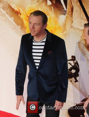 Simon Pegg - 'Mission: Impossible - Rogue Nation' - UK special screening held at the BFI London IMAX - London,...