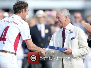 Luke Tomlinson and Charles Prince Of Wales