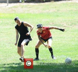 Ruby Rose and Phoebe Dahl - 'Orange Is the New Black' actress Ruby Rose gets competitive with her fiancée Phoebe...