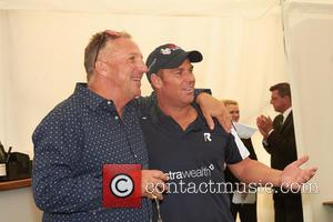Ian Botham and Shane Warne