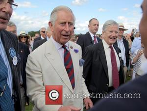 Prince Charles and Guards