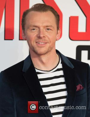 Simon Pegg - 'Mission: Impossible - Rogue Nation' UK special screening at the BFI London IMAX at IMAX - London,...