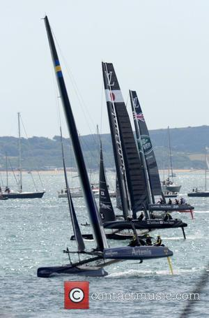 Land Rover Bar, Atmosphere, Artemis Racing and Softbank Team Japan