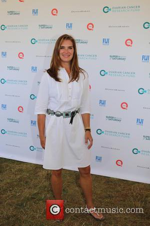 Brooke Shields - Ovarian Cancer Research Fund (OCRF) Super Saturday - Bridgehampton, New York, United States - Saturday 25th July...
