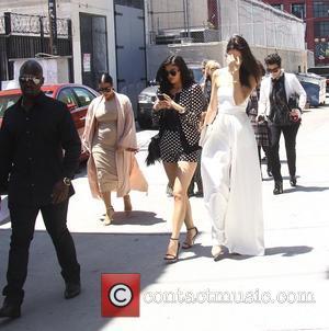 Kim Kardashian, Khloe Kardashian, Kris Jenner, Kendal Jenner and Kylie Jenner - The Kardashians out and about in Los Angeles...