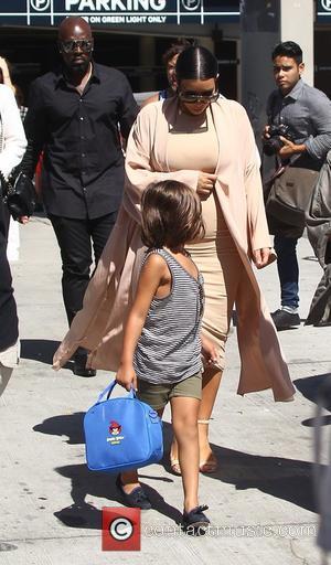Corey Gamble and Kim Kardashian
