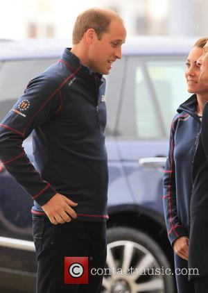 Prince William - Prince Willam and Catherine, Duchess of Cambridge arrive at Portsmouth Harbour to attend the 35th America's Cup...