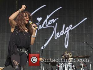 Sister Sledge and Joni Sledge