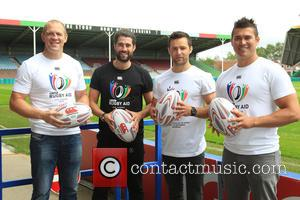 Mike Tindall, Matt Johnson, Harry Judd and Rav Wilding - Former England Rugby Captain and 2003 World Cup Winner Mike...