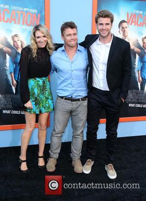 Samantha Hemsworth, Luke Hemsworth and Liam Hemsworth