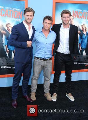 Chris Hemsworth, Luke Hemsworth and Liam Hemsworth