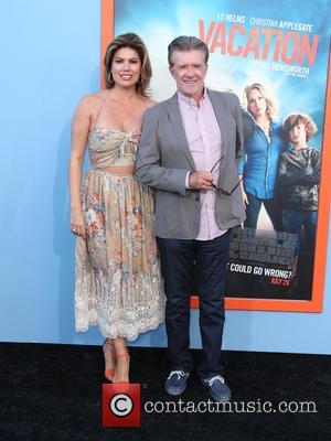 Alan Thicke and Tanya Callau