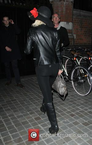 Sarah Harding - Celebrities arriving at Chiltern Firehouse - London, United Kingdom - Monday 27th July 2015
