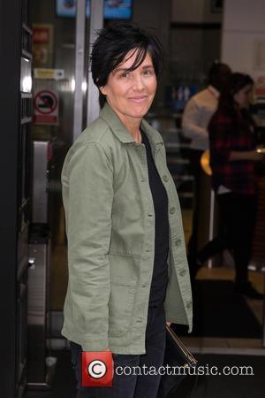 Sharleen Spiteri - Sharleen Spiteri pictured arriving the Radio 2 studio at BBC Western House - London, United Kingdom -...
