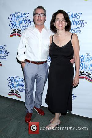 Darren Bagert and Jane Dubin - Opening night for The Absolute Brightness of Leonard Pelkey at the Westside Theatre -...