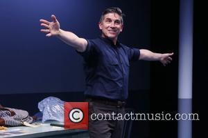James Lecesne - Opening night for The Absolute Brightness of Leonard Pelkey at the Westside Theatre - Curtain Call. at...