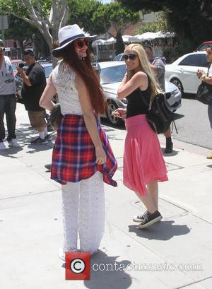 Heidi Montag and Phoebe Price - Heidi Montag and Spencer Pratt meet Phoebe Price on Robertson Blvd in Beverly Hills...