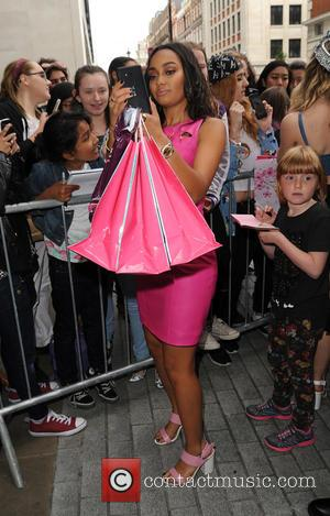 Leigh Anne Pinnock - Little Mix meet fans at Radio 1 - London, United Kingdom - Tuesday 28th July 2015