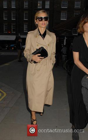 Laura Bailey - Celebrities at the Chiltern Firehouse - London, United Kingdom - Wednesday 29th July 2015
