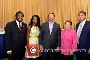 Fort Lauderdale, Broward County Commissioner Dale Holness, Urban League Of Broward County Ceo Germaine Smith-baugh and National Urban League President & Ceo Marc H. Morial