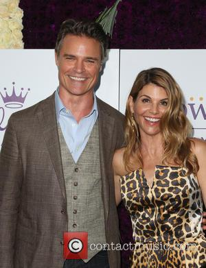 Dylan Neal and Lori Loughlin - Hallmark Channel and Hallmark Movies & Mysteries Summer Press Tour at Private Residence -...