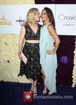 Kristin Booth and Crystal Lowe - Hallmark Channel and Hallmark Movies & Mysteries Summer Press Tour at Private Residence -...