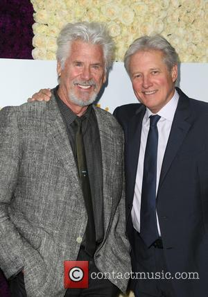 Barry Bostwick and Bruce Boxleitner - Hallmark Channel and Hallmark Movies & Mysteries Summer Press Tour - Arrivals at Private...