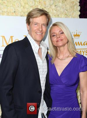 Jack Wagner and Kristina Wagner