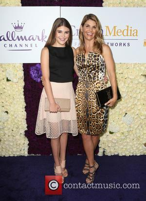 Lori Loughlin and Isabella Giannulli - Hallmark Channel and Hallmark Movies & Mysteries Summer Press Tour - Arrivals at Private...