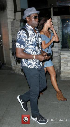 Wesley Snipes and Natalie Burn - Wesley Snipes and Natalie Burn leaving Sushi Roku in Santa Monica - Los Angeles,...