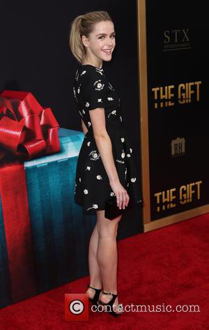 Kiernan Shipka - 'The Gift' premiere at Regal Cinemas L.A. Live - Arrivals - Los Angeles, California, United States -...