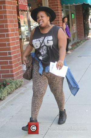 Amber Riley - Glee star Amber Riley out and about running errands in  Beverly Hills - Los Angeles, California,...