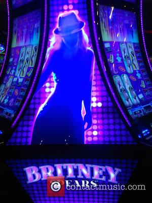 Britney Spears Slot Machine - Britney Spears Slot Machine Arrives In Las Vegas at Sun Coast Hotel & Casino at...