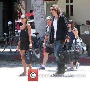 Chris Cornell and Vicky Karayiannis
