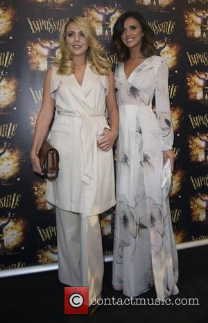 maria fowler lydia bright - 'Impossible' launch and press night - Arrivals - London, United Kingdom - Thursday 30th July...