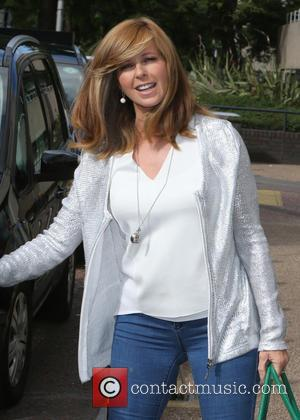 Kate Garraway - Kate Garraway outside ITV Studios - London, United Kingdom - Thursday 30th July 2015