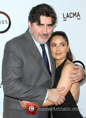 Alfred Molina and Salma Hayek - Kahlil Gibran's The Prophet Special Screening held at LACMA's Bing Theatre at LACMA's Bing...
