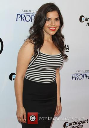 America Ferrera - Kahlil Gibran's The Prophet Special Screening held at LACMA's Bing Theatre at LACMA's Bing Theatre - Los...
