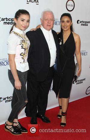 Rowan Blachard, Jim Sheridan and Salma Hayek