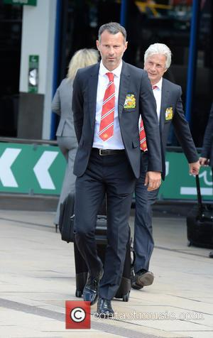 Ryan Giggs - Manchester United arrive at Manchester Airport after returning from their pre season USA Tour - Manchester, United...