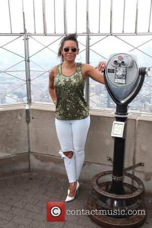Mel B and Melanie Brown - Empire State Building hosts America's Got Talent judge Mel B celebrating the 10th Anniversary...