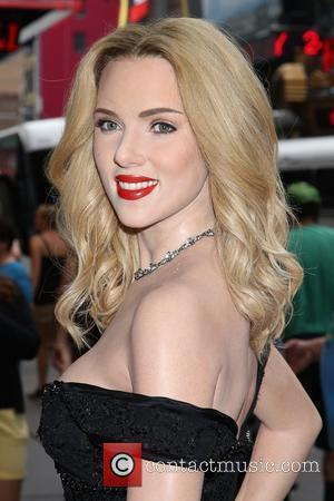 Scarlett Johansson Wax Portrait Madame Tussauds New York - New York ...  Scarlett Johansson