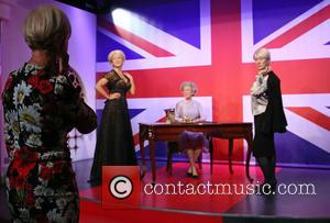 Dame Helen Mirren - Dame Helen Mirren views her three wax work figures at Madame Tussauds at Madame Tussauds -...