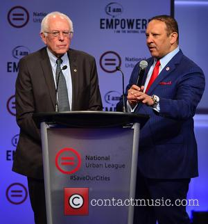 Democratic Presidential hopeful U.S. Senator Bernard 'Bernie' Sanders , National Urban League President & CEO Marc H. Morial - Bernard...
