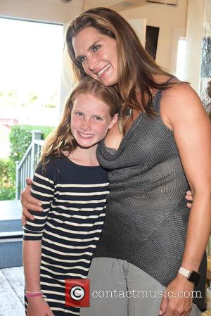 Grier Henchy and Brooke Shields
